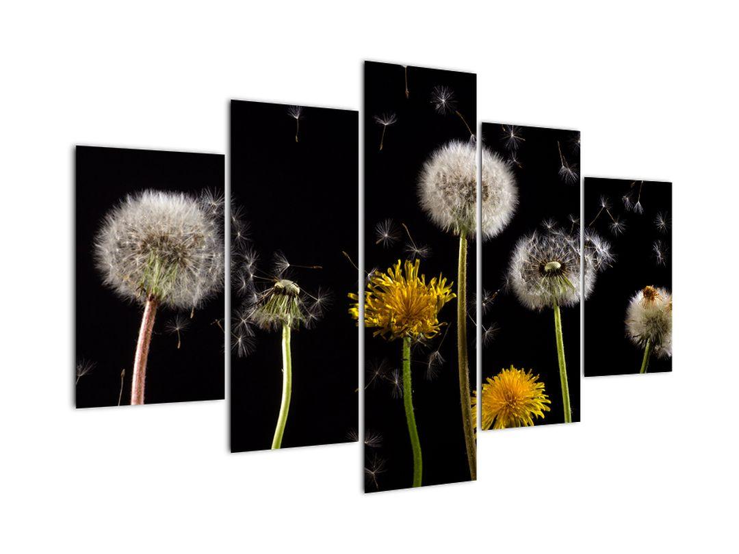Modern kép - virágok